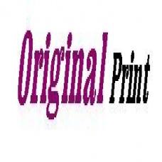 Original Print