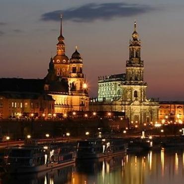 Weekend romantic in Dresda