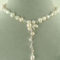 Colier cascada din perle