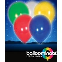 Baloane Luminoase Colorate - Set cu 5 culori diferite