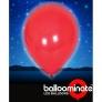Baloane luminoase cu led - culoare: rosu