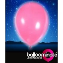 Baloane cu led, culoare: roz