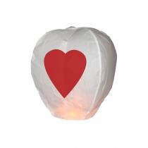 Lampion inima pentru mireasa si mire