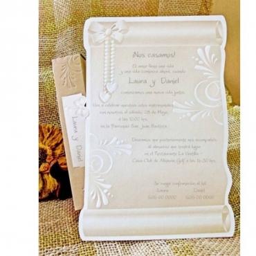 Invitatie Pergament - Cleopatra