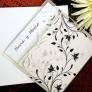 Invitatie eleganta - Flora