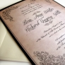 Invitatie vintage - Clasico
