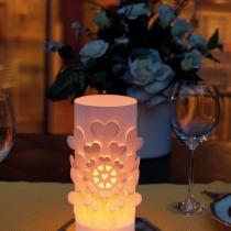 Lampion decorativ 3d pentru masa mirilor