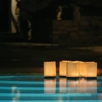 Lampioane plutitoare pentru lacuri sau piscine