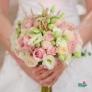 Buchet de mireasa - Poveste Roz