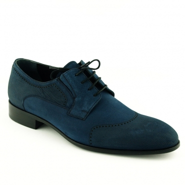 Pantofi albastri din nabuc - Mario Fellini