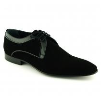 Pantofi Mario Fellini negri din piele intoarsa