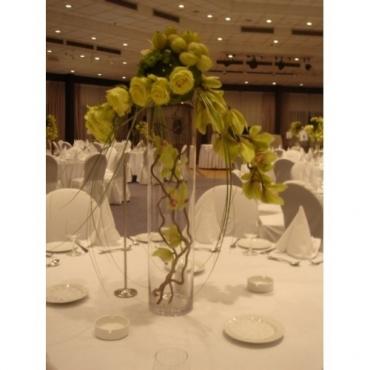 Aranjament floral nunta, pentru mese