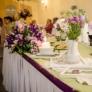 Decor nunta mov
