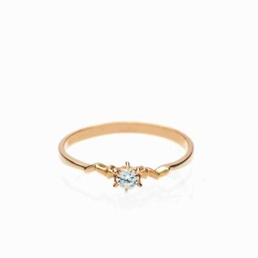 Inel de logodna cu diamant incolor