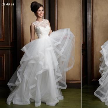 Rochie de mireasa eleganta model printesa