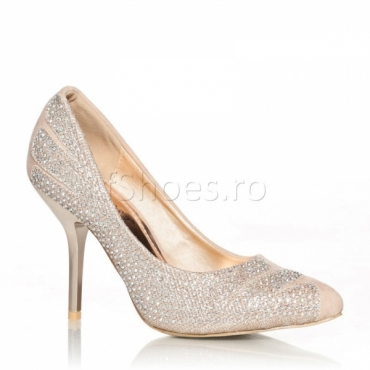 Pantofi Siren crem