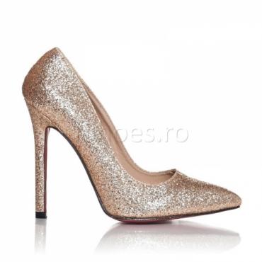 Pantofi dama Glitz