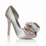 Pantofi argintii Sheer