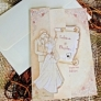 Invitatie de nunta din pergament