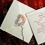Invitatie de nunta cu inimioara