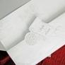 Invitatie nunta tip papirus eleganta