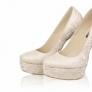 Pantofi de mireasa - Model Floral