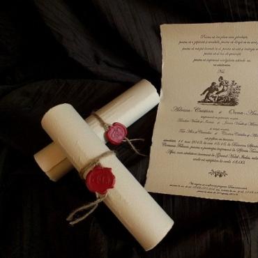 Invitatie Hartie Manuala 2
