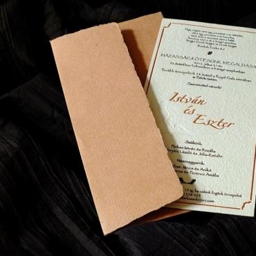 Invitatie Hartie Manuala 6