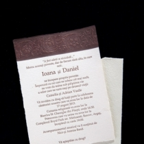 Invitatie Hartie Manuala 9