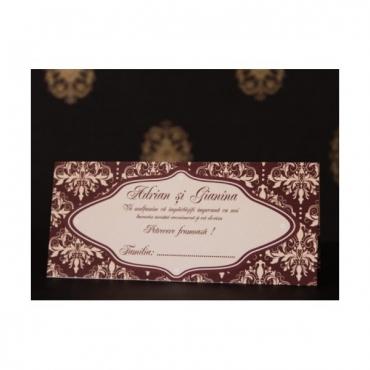 Plic de bani pentru nunta elegant