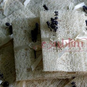 Invitatie de nunta Lavender Dream