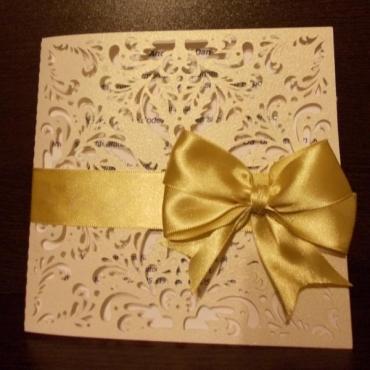Invitatie de nunta Damask