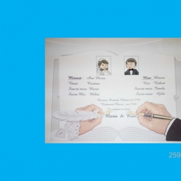 Invitatie nunta 2593
