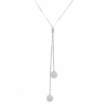 Colier Mireasa - Cristale Swarovski & Argint 925