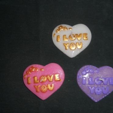 Marturii de nunta inimioare I Love You