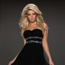 Rochie GlamyDuchess Black