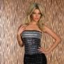 Rochie GlamourDuchess MetallicGrey