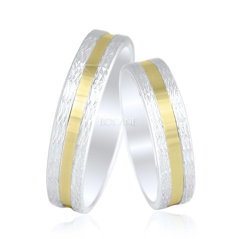 Verighete De Argint Gold Rush Pereche Doyouro