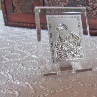 Marturii nunta - iconita cristal