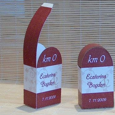 Borna kilometrica - Cutie marturie