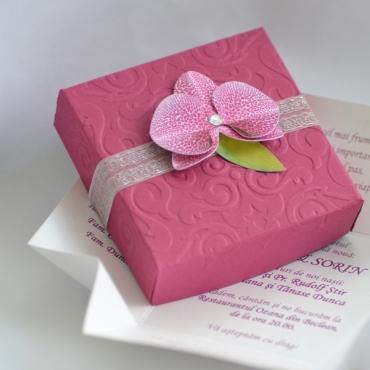 Orhidee romantica - Invitatie de nunta
