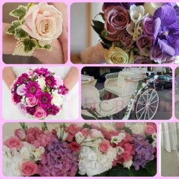 Pachet aranjamente florale nunta extra