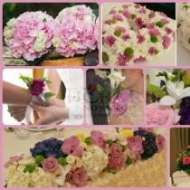 Pachet aranjamente florale nunta vip