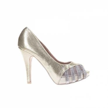 Pantofi Samantha gold