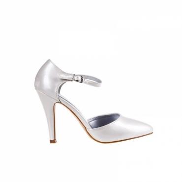 Pantofi Rana beige