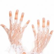 Manusi scurte semitransparente, fara degete