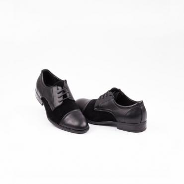 Pantofi barbati ocazie, negri, din colectia Arsenio