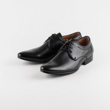 Pantofi barbati ocazie, negri, din colectia Zayas
