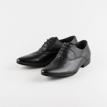 Pantofi barbati ocazie, negri, din colectia Duenas
