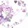Ghirlanada cu inimioare albe iridiscente 3.65m